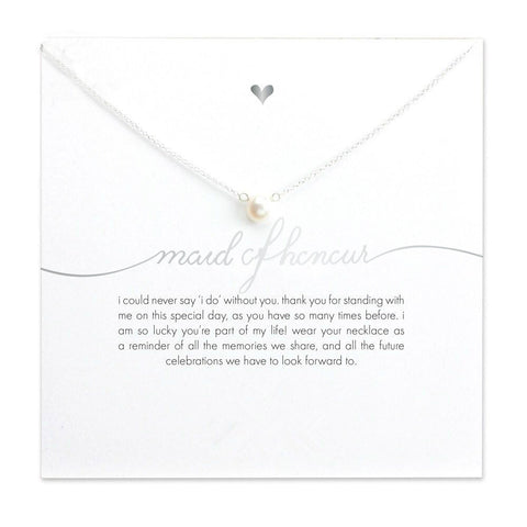 Maid of Honour Faux Pearl Necklace