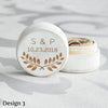 Image of Personalised Circular Ring Box