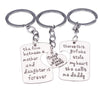 Image of 3pc Keychain Set Mother & Father of the Bride
