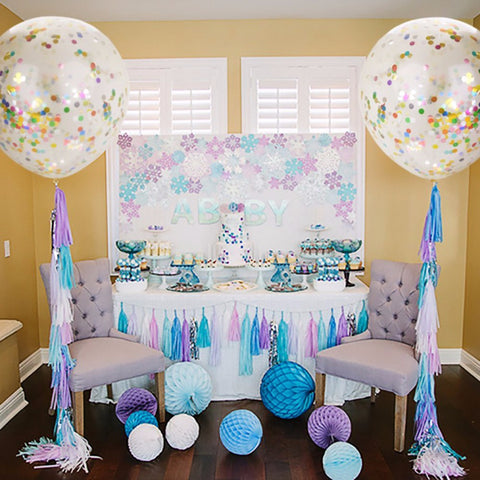 Decorative Confetti Balloons