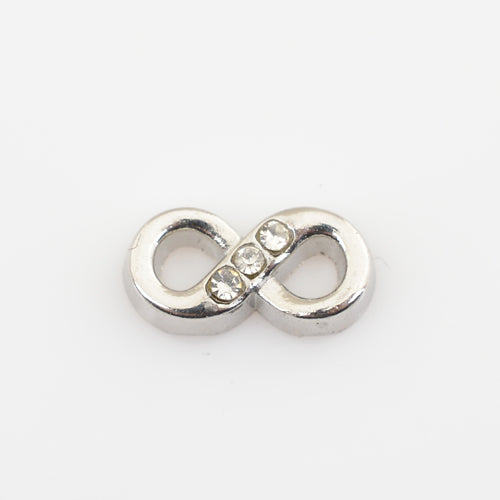 Infinity Floating Charm - 1pc