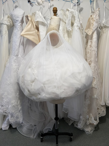 Easy Pee Wedding Dress Petticoat