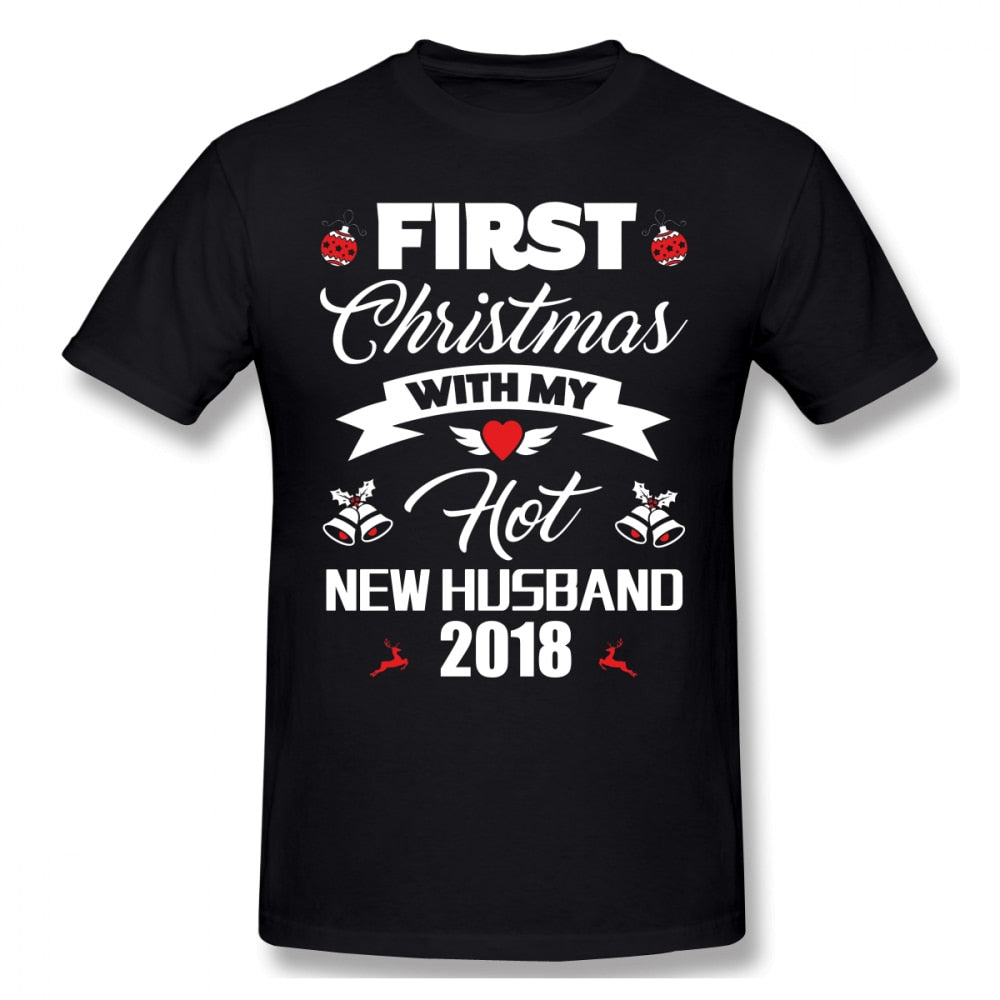 First Christmas With Husband T-Shirt