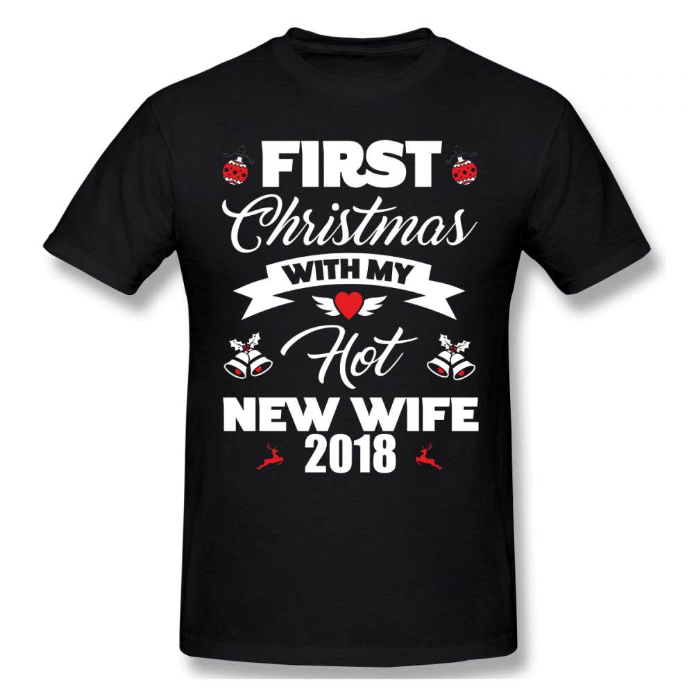 First Christmas With Wife T-Shirt