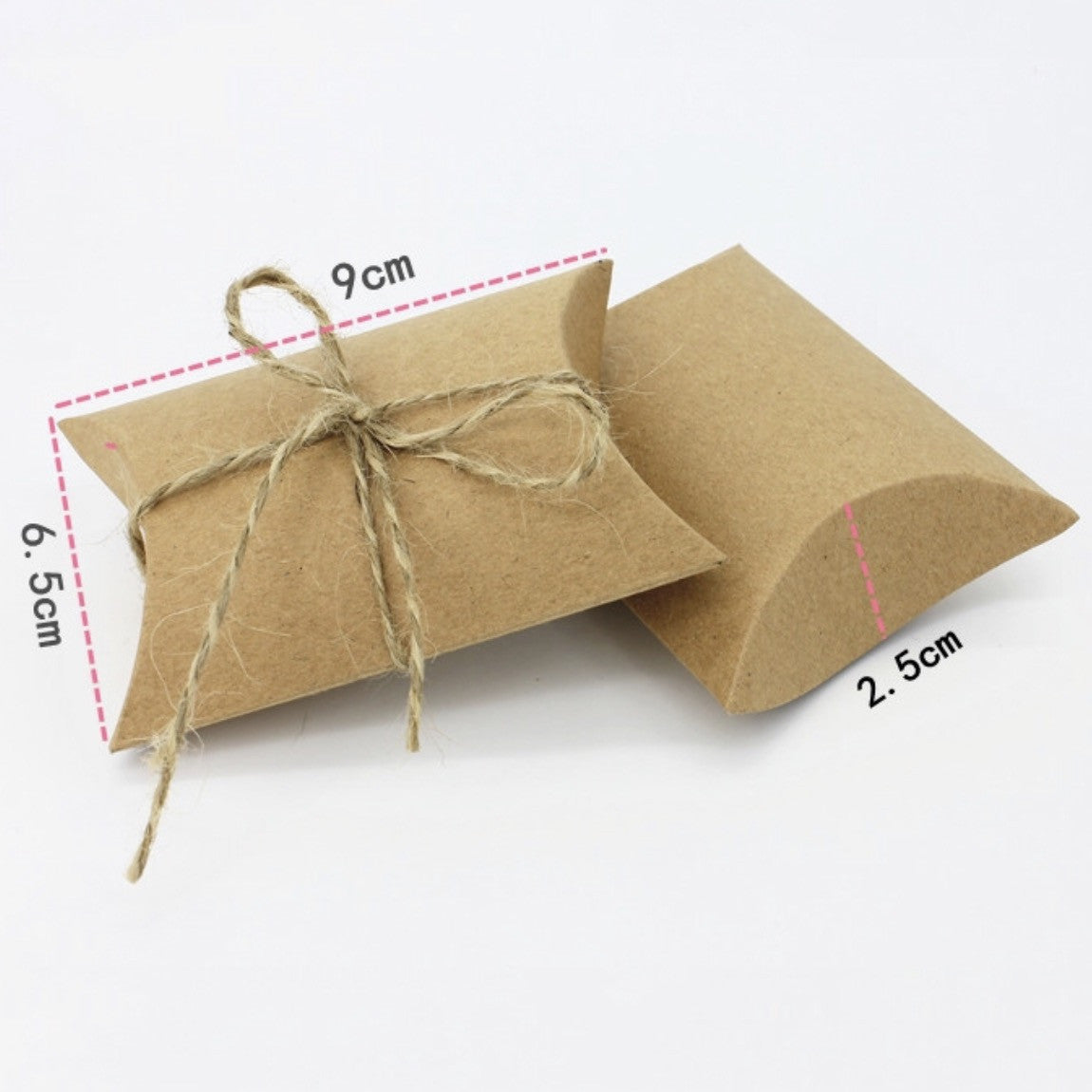 Rustic Cardboard Favor Boxes