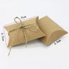 Image of Rustic Cardboard Favor Boxes