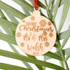 Our First Christmas Personalised Ornament