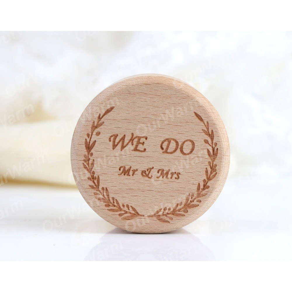 We Do Wooden Ring Box