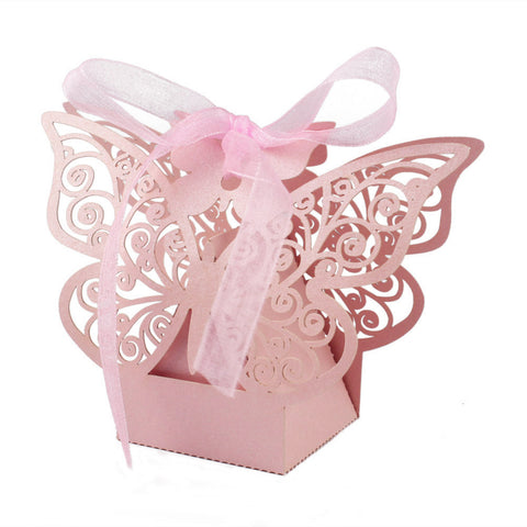 Butterfly Favor Boxes