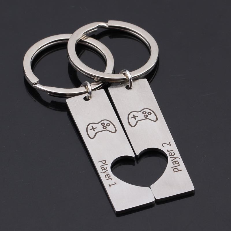 Couples Gaming Keyrings