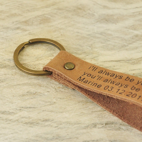 Personalised Father of the Bride Keyring