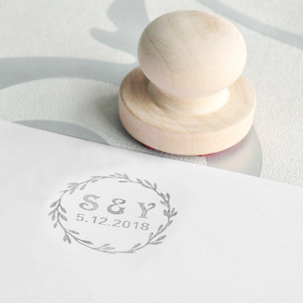 Personalized Wedding Invite Stamp