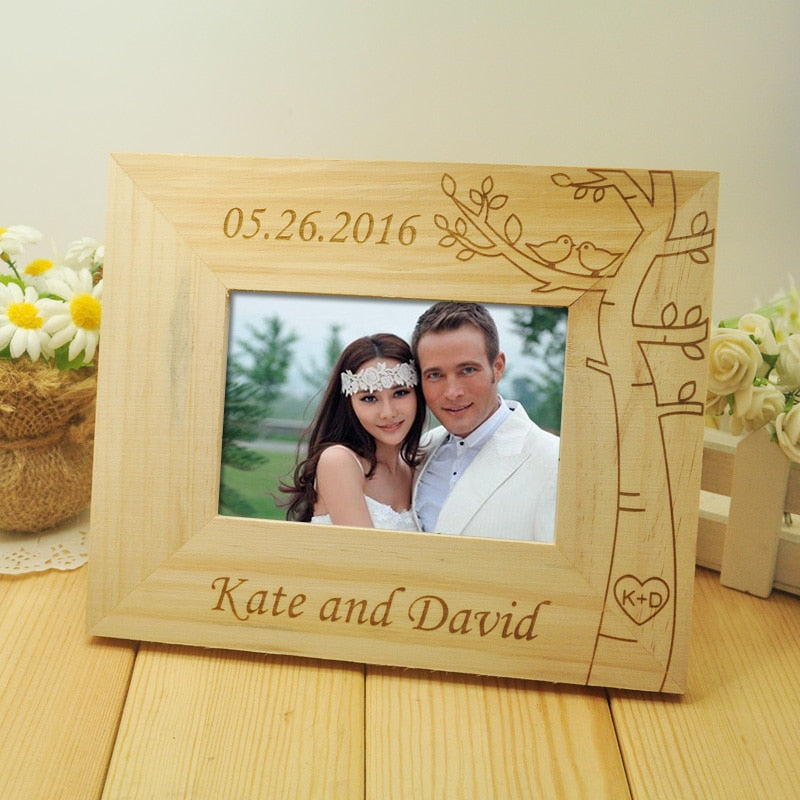 Personalised Wedding Picture Frame