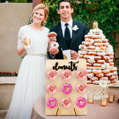 Freestanding Donut Wall