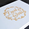 Image of Personalised Wedding Guest Book