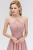 Image of Pink Floral Bridesmaid Dress