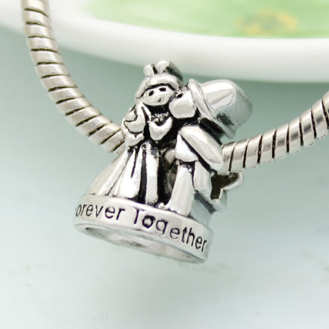 Silver Forever Together Charm