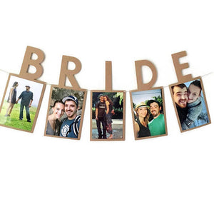 Bride To Be Hanging Photo Banner