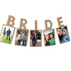 Image of Bride To Be Hanging Photo Banner