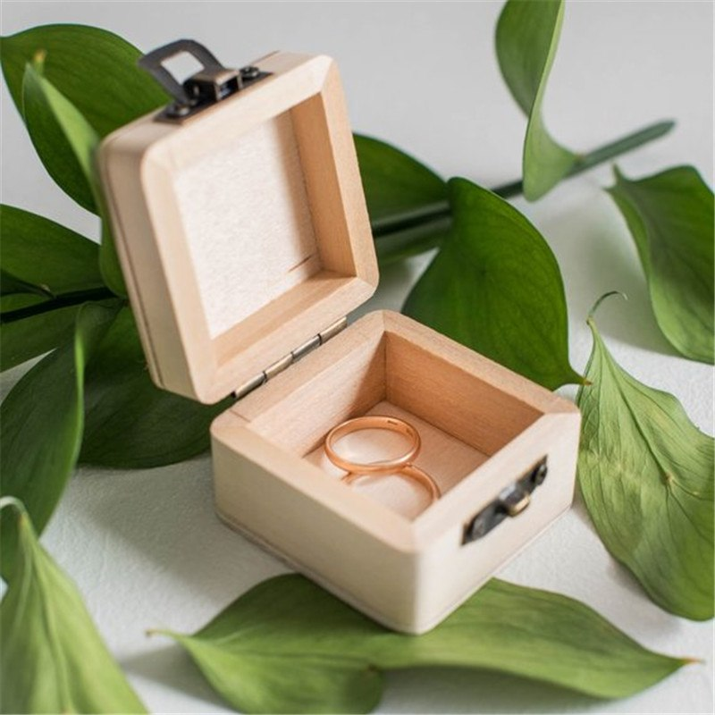 'We Do' Personalised Ring Box