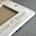 Personalised Wedding Day Picture Frame
