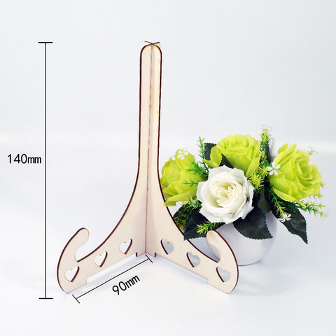 Wedding Guest Book Wooden Stand