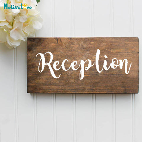 """Reception"" Decal"