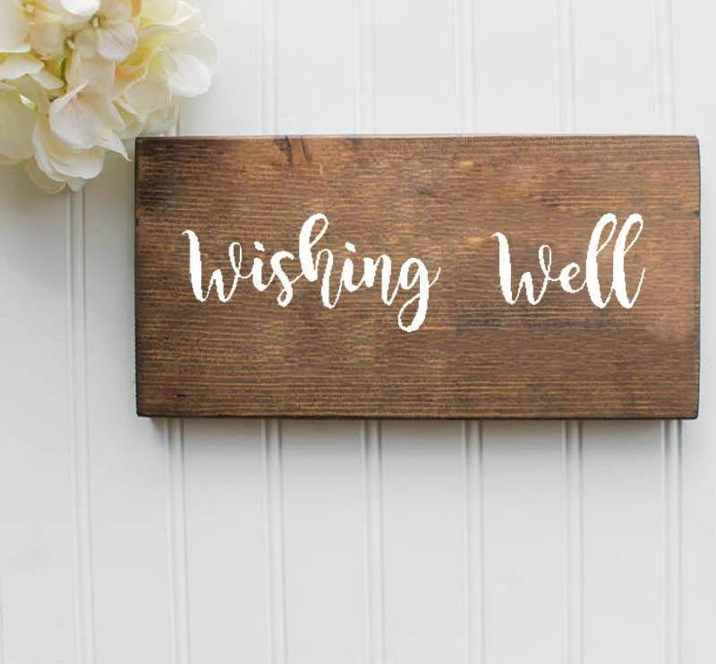 Wishing Well Decal