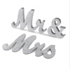 Image of Mr & Mrs Wooden Table Sign