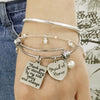 "Image of Maid of Honor ""Thank You"" Bangle"