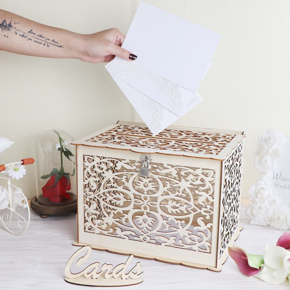 Wedding Card Post Box & Sign