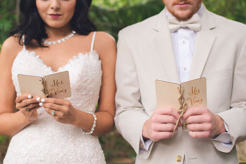 His & Hers Vow Books (Pair)