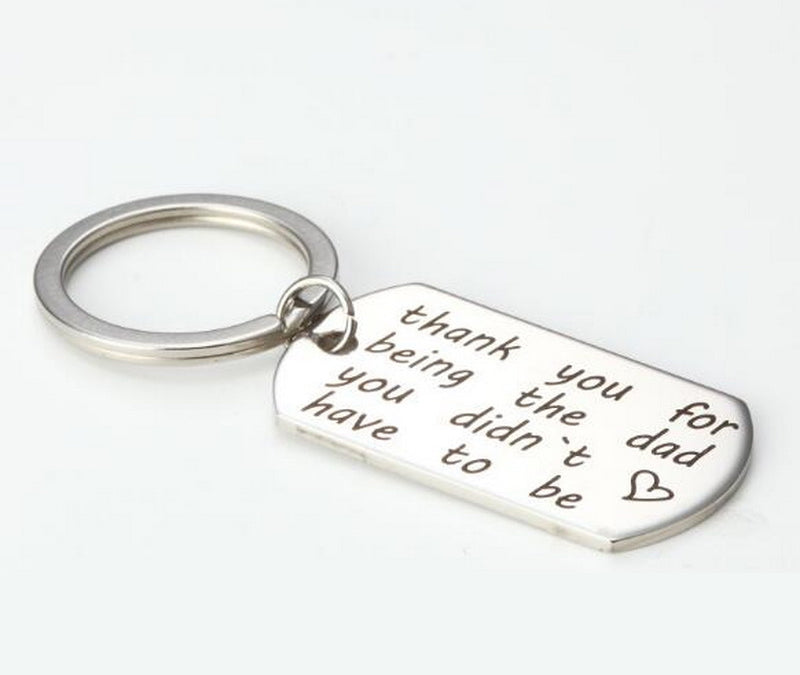 Step Father of the Bride / Groom Key Chain