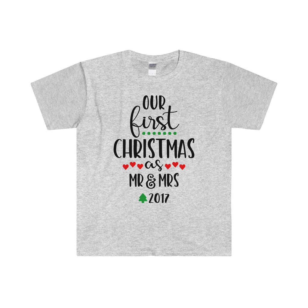 Our First Christmas As Mr & Mrs 2017 - Men's T Shirt