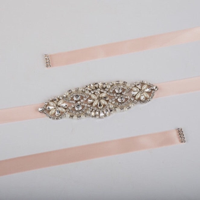 Flower Detail Bridal Belt