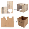 "Image of Wood Effect ""Love"" Favor Boxes"