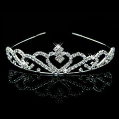 Princess Heart Bridal Tiara