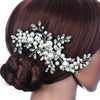 Image of Elegant Pearl Hair Piece