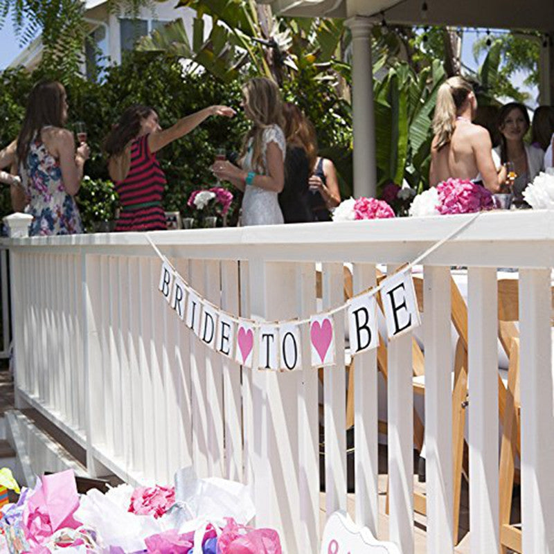 """Bride To Be"" Hen Party Banner Decoration"