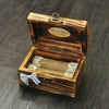 Image of Personalised Rustic Wooden Ring Bearer Box