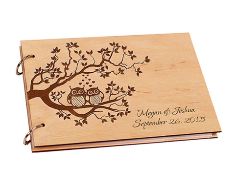 Personalised Owl Guest Book