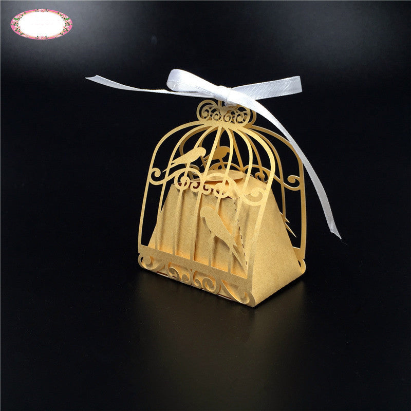 Love Birds Favor Bags - 10pcs
