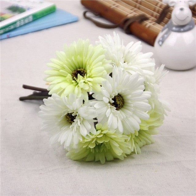 Artificial Silk Gerbera Bouquet