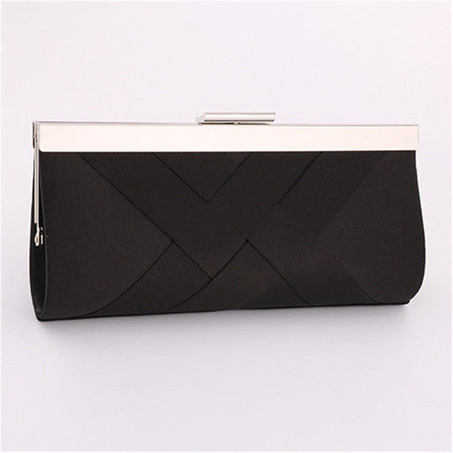 Satin Clutch Bag