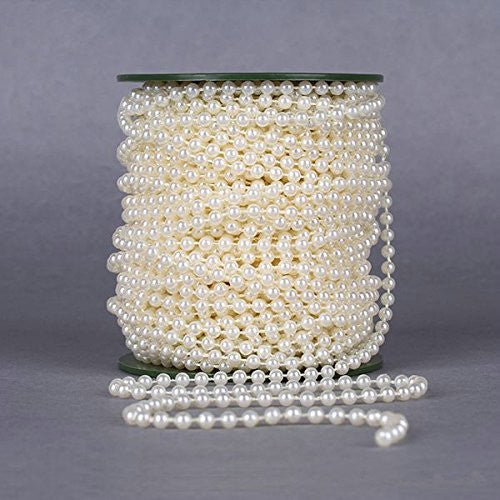 Faux Pearl Beads On String - 10m