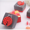 Ladybird Favor Boxes - 50pcs
