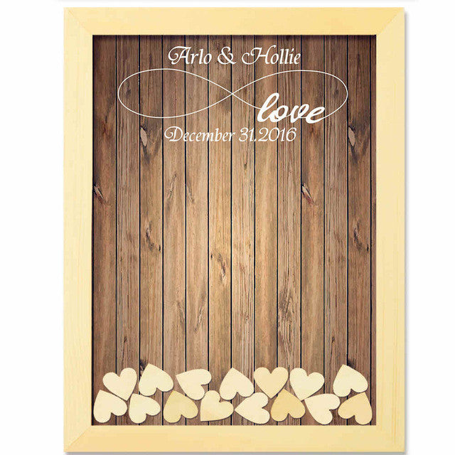 Personalised Drop Box Guest Book