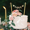 Image of Love Flag Wedding Cake Topper