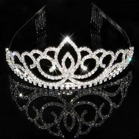 Princess Silver Plated Bridal Tiara