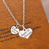 Image of Personalised Heart Pendant Necklace